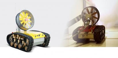 RXR-YC10000JD 防爆消防排烟侦察机器人