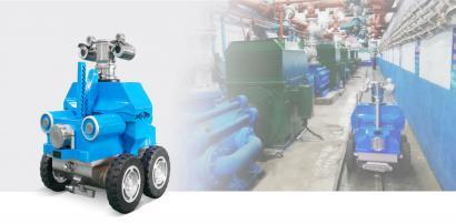 KRXJ51-LS 矿用隔爆兼本安型轮式巡检机器人