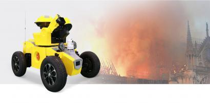RXR-MC40L 消防投弹灭火机器人